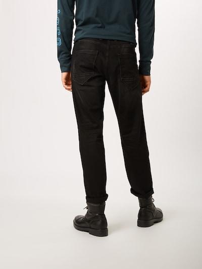JACK & JONES Jeans in black denim: Rückansicht