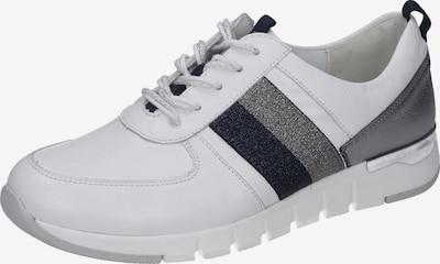 WALDLÄUFER Schnürschuhe in grau / weiß, Produktansicht
