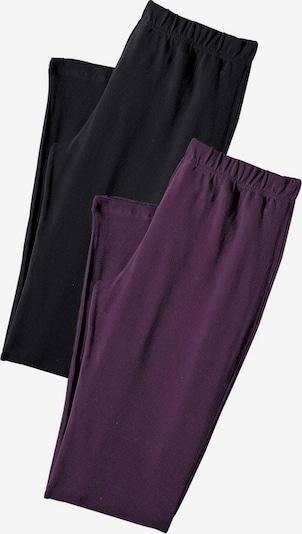 VIVANCE Leggings in bordeaux / schwarz, Produktansicht