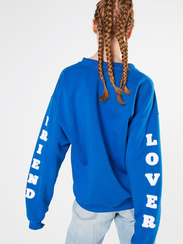 Colourful Rebel Sweatshirt 'Lover Friend'