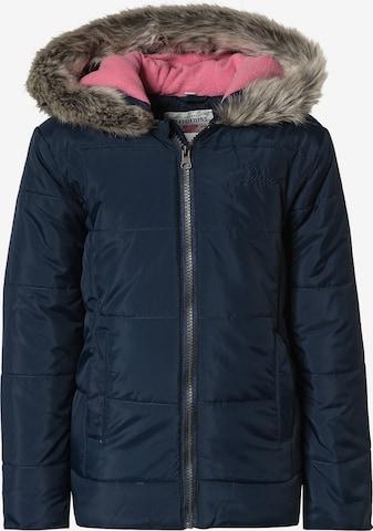 Outburst Winter Jacket in Blue