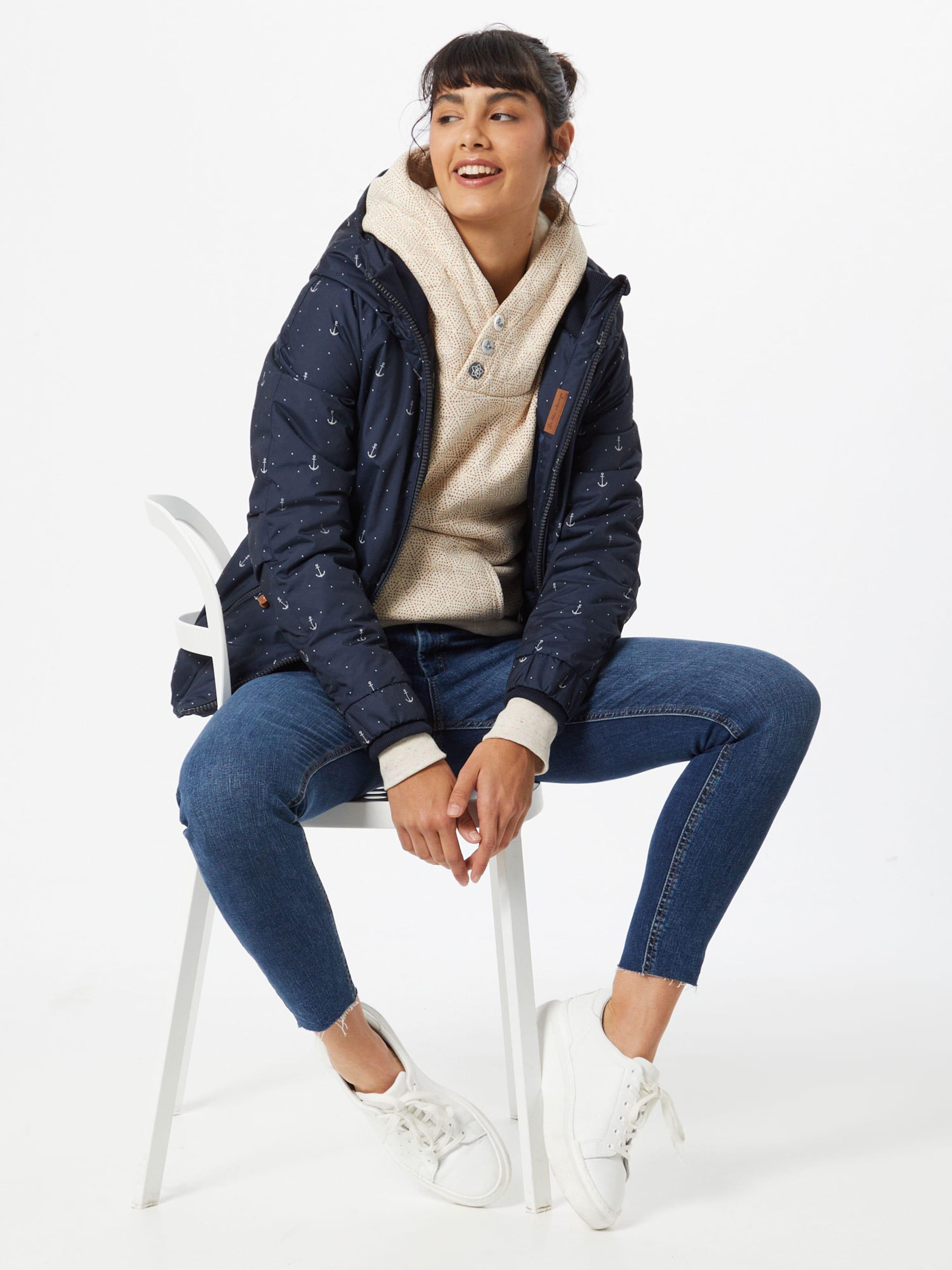 Ragwear Sweatshirt 'Chelsea' in hellbeige / gelb / dunkelorange