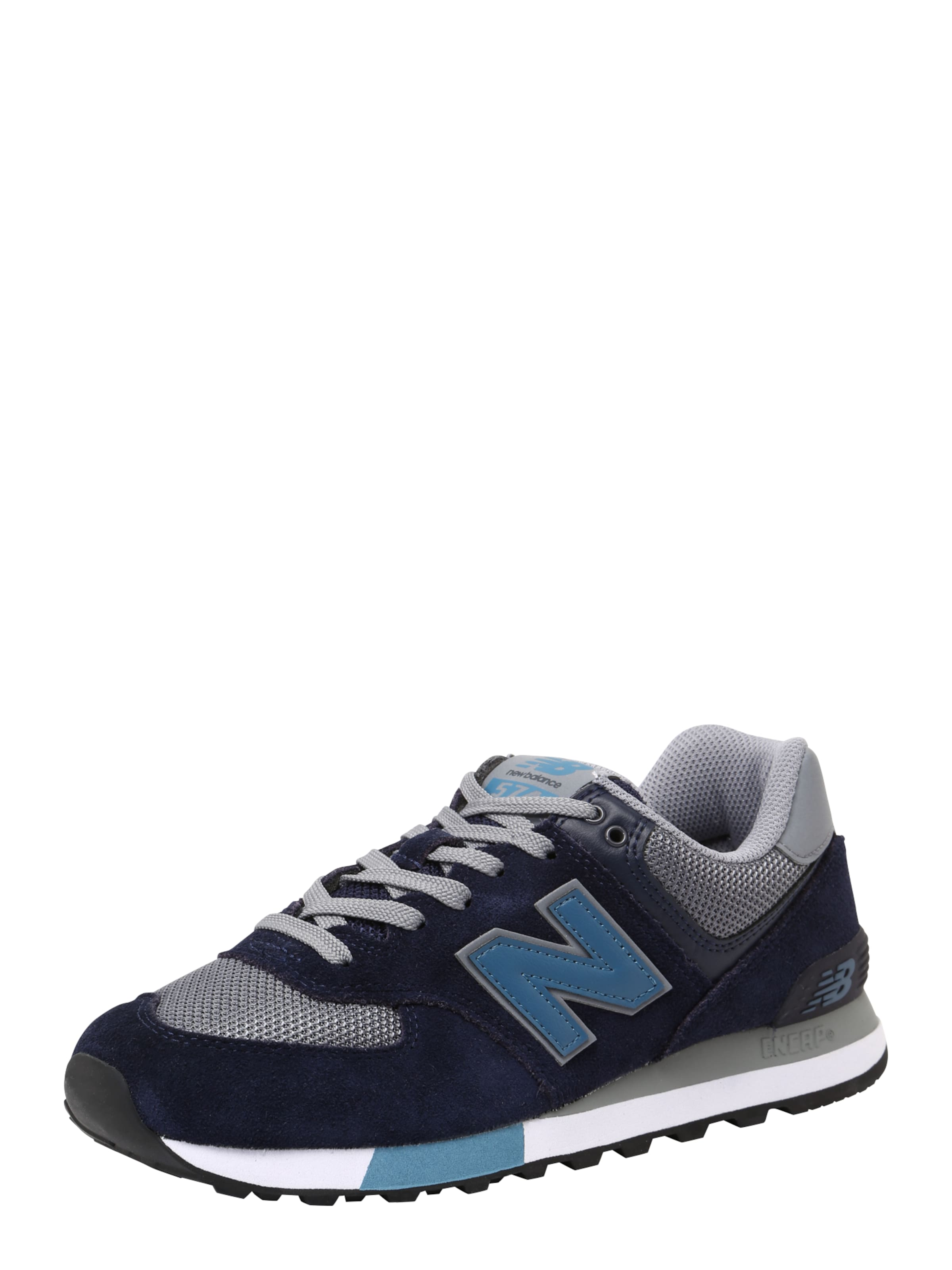 New 574' Balance In Sneaker MarineGrau 'ml OkXuZTPi