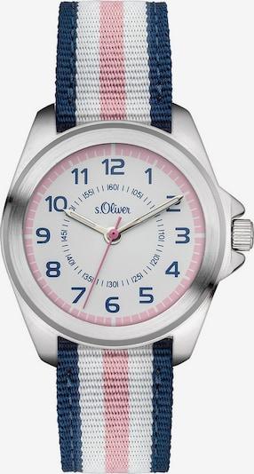 s.Oliver Junior Armbanduhr in blau / rosa / weiß, Produktansicht