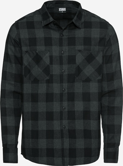 antracit / fekete Urban Classics Ing 'Checked Flanell', Termék nézet