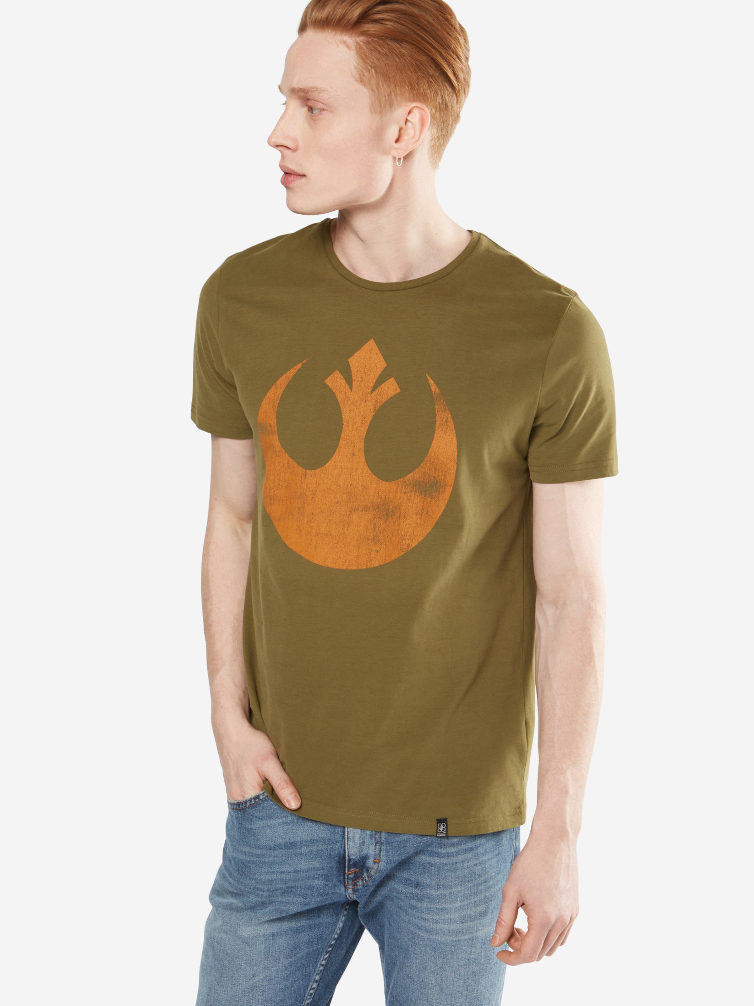 GOZOO Shirt 'REBEL ALLIANCE STARBIRD - STAR WARS' Billig 100% Authentisch mUytlA