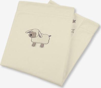 STERNTALER Decke 'Stanley' in hellbeige / naturweiß, Produktansicht