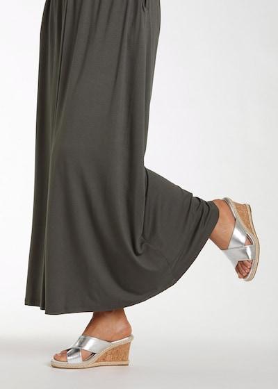 LASCANA Pantolette in silber: Frontalansicht