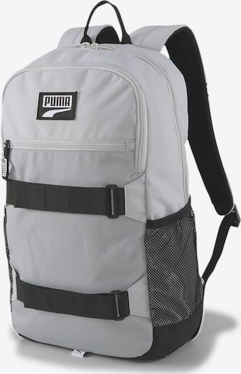 PUMA Rucksack 'Deck' in schwarz / silber, Produktansicht