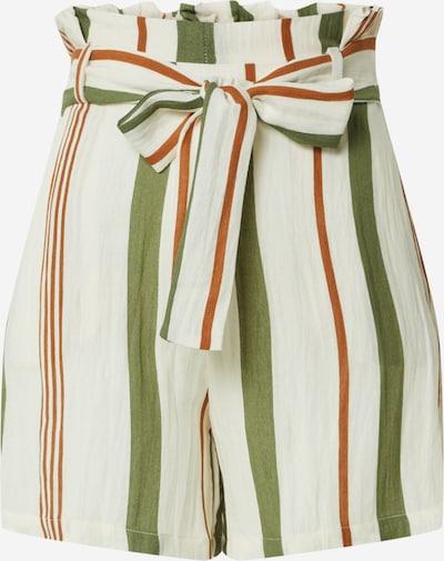 ONLY Shorts 'ONLSUMMER' in beige / grün / rot, Produktansicht