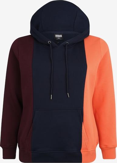 Urban Classics Curvy Sweater majica u noćno plava / boja vina, Pregled proizvoda