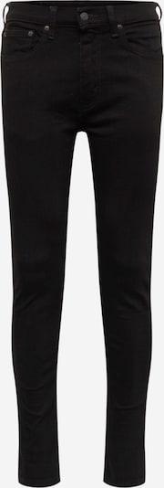 LEVI'S Jeans 'SKINNYHIBALLROLL' in de kleur Zwart, Productweergave