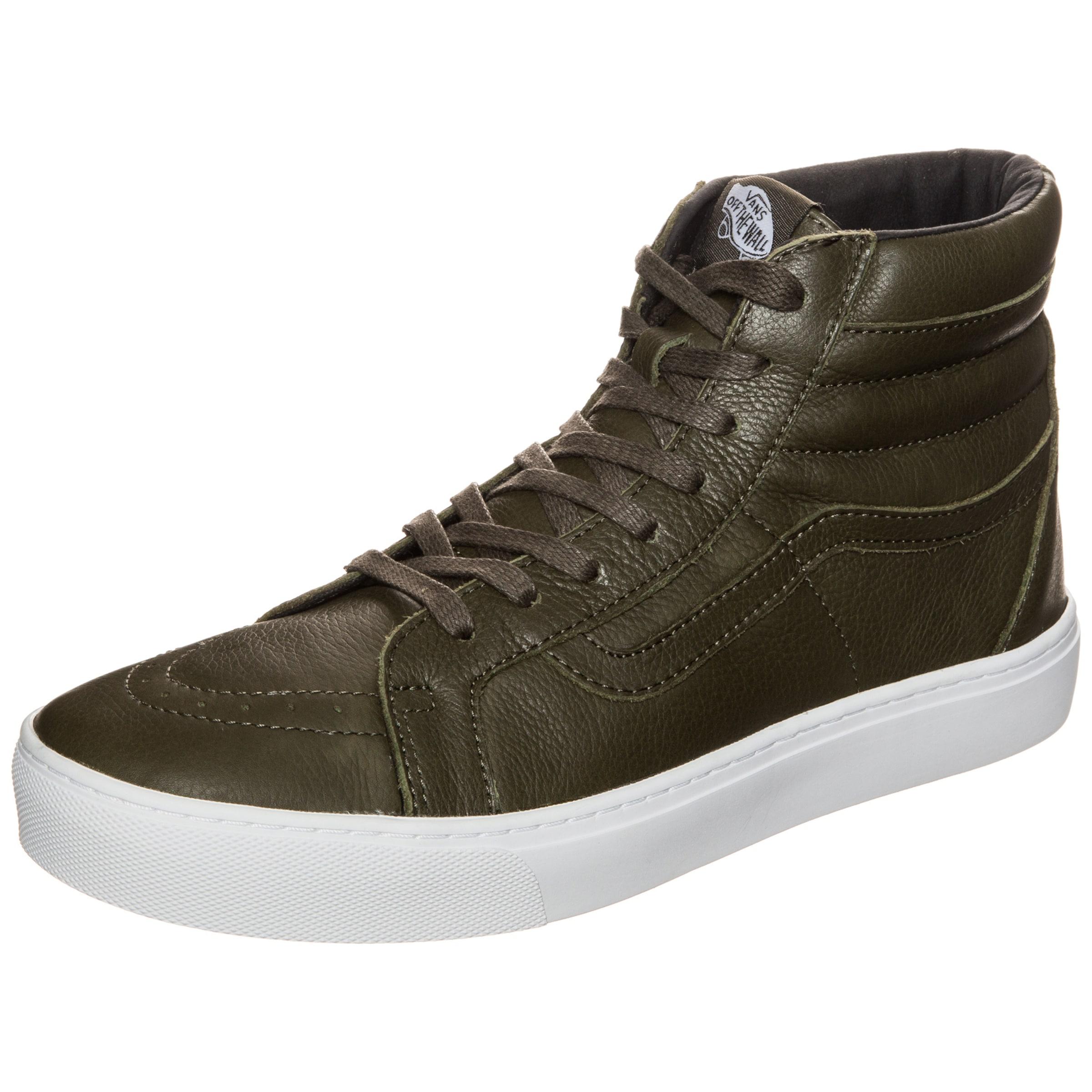 VANS Sk8-Hi Cup Leather Sneaker Hohe Qualität