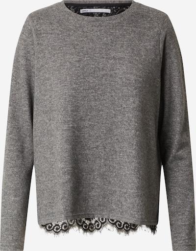 ONLY Pullover 'Mayea' in grau / schwarz, Produktansicht