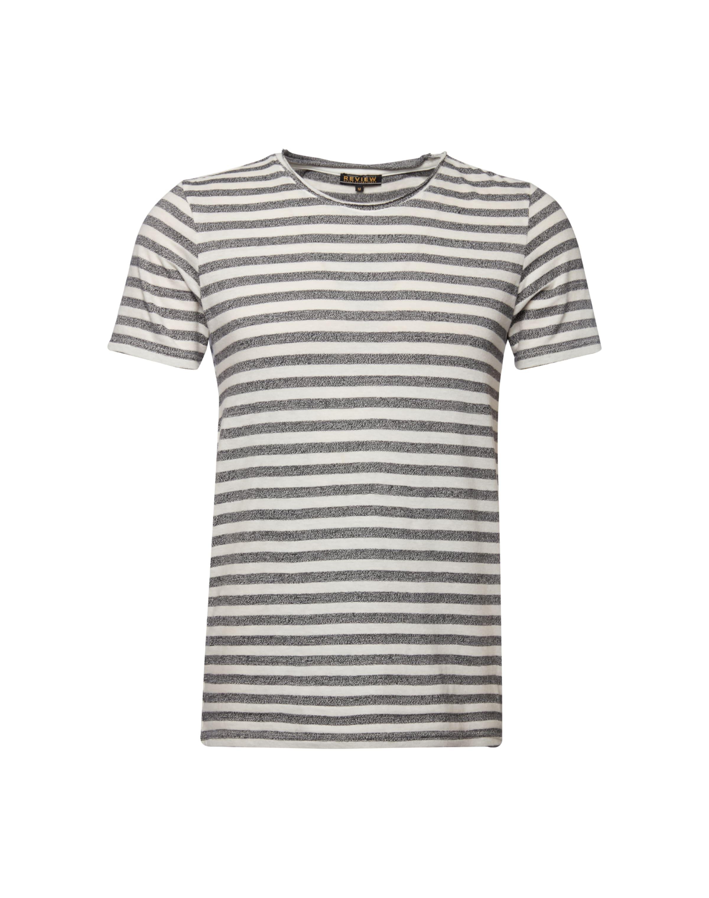 Review shirt NoirBlanc 'brokenstripe' En T lF3JTcK1