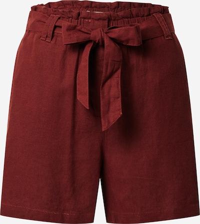 Soyaconcept Kalhoty 'Ina' - tmavě červená: Pohled zepředu