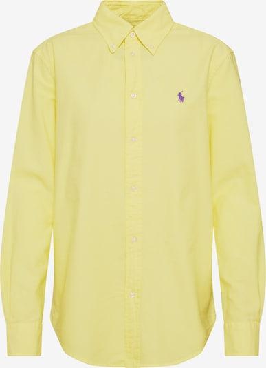 POLO RALPH LAUREN Blouse in de kleur Geel: Vooraanzicht