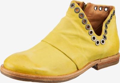A.S.98 Stiefelette 'ZEPORT' in gelb, Produktansicht