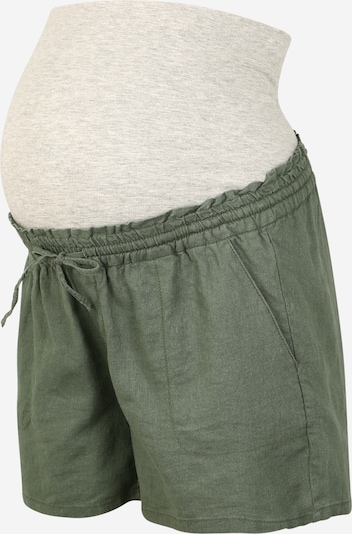 MAMALICIOUS Shorts in oliv, Produktansicht