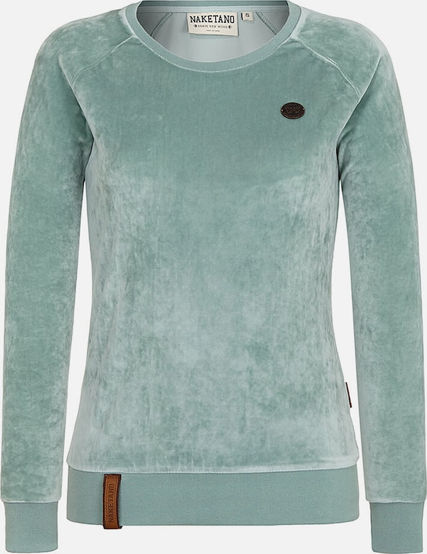 naketano Sweatshirt in mint, Produktansicht