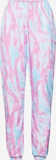Urban Classics Pantalon 'Tie Dye Track Pants' en bleu / rose, Vue avec produit