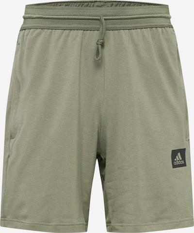 ADIDAS PERFORMANCE Športne hlače 'D2M MOTION' | oliva / črna barva, Prikaz izdelka