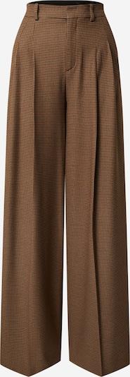 DRYKORN Pantalon à plis 'Notch' en marron / noir, Vue avec produit