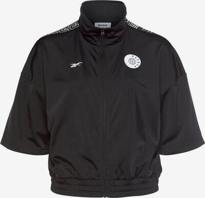 REEBOK Trainingsjacke in schwarz, Produktansicht