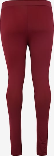 Urban Classics Hosen 'Ladies Tech Mesh Legging' in weinrot: Rückansicht