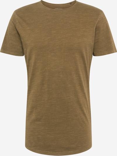 JACK & JONES Majica 'JJEASHER' u maslinasta: Prednji pogled