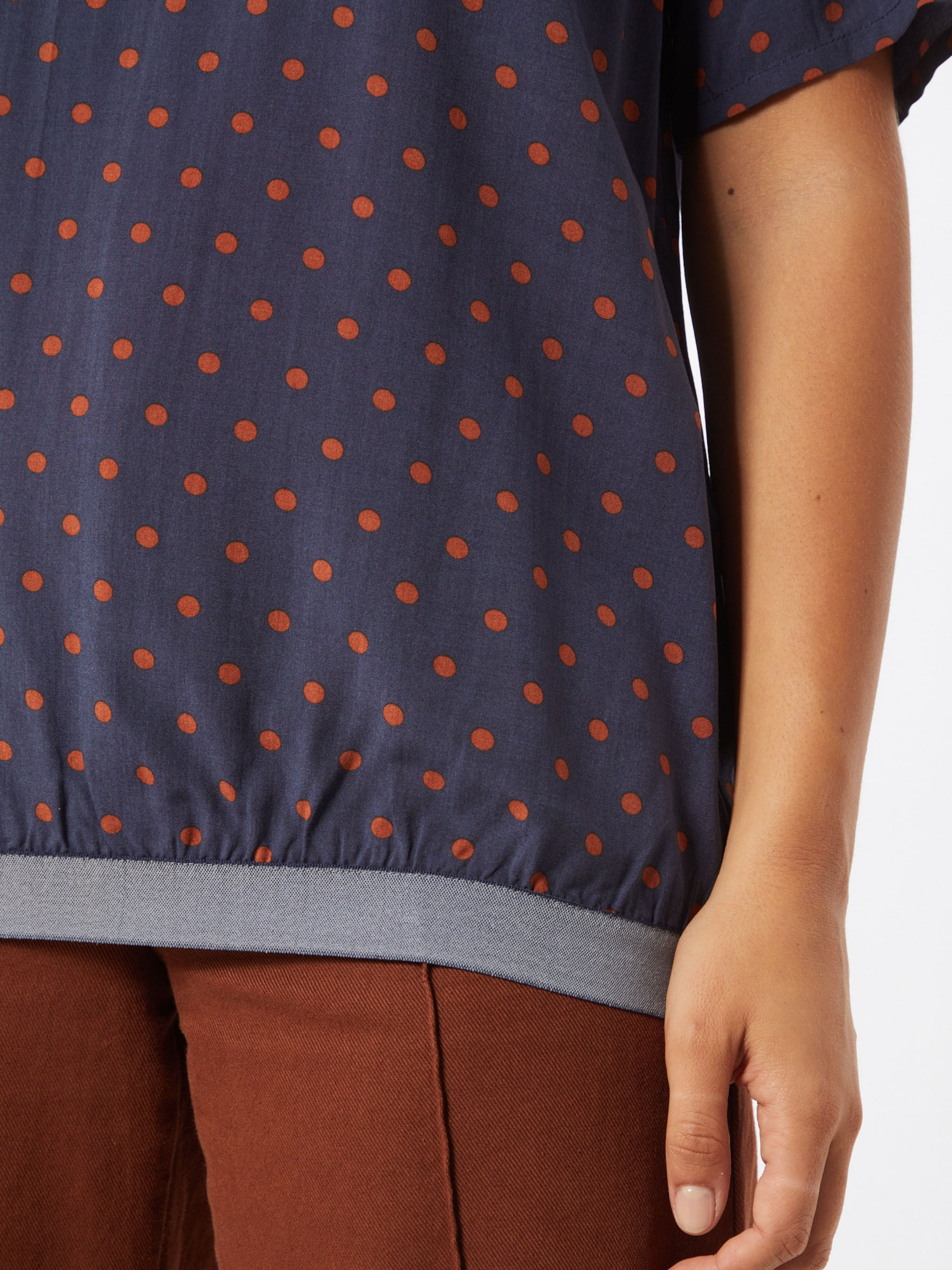 LIEBLINGSSTÜCK Bluse 'Rejane' in blau / rot