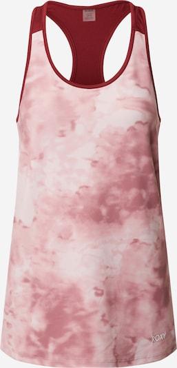 Sport top 'HEAD IN CLOUDS' ROXY pe roz vechi / roşu închis / alb, Vizualizare produs