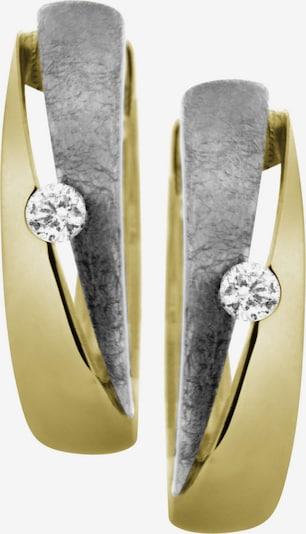 FIRETTI Earrings in Gold / Grey / White, Item view