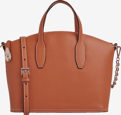 Calvin Klein Shopper in de kleur Cognac, Productweergave