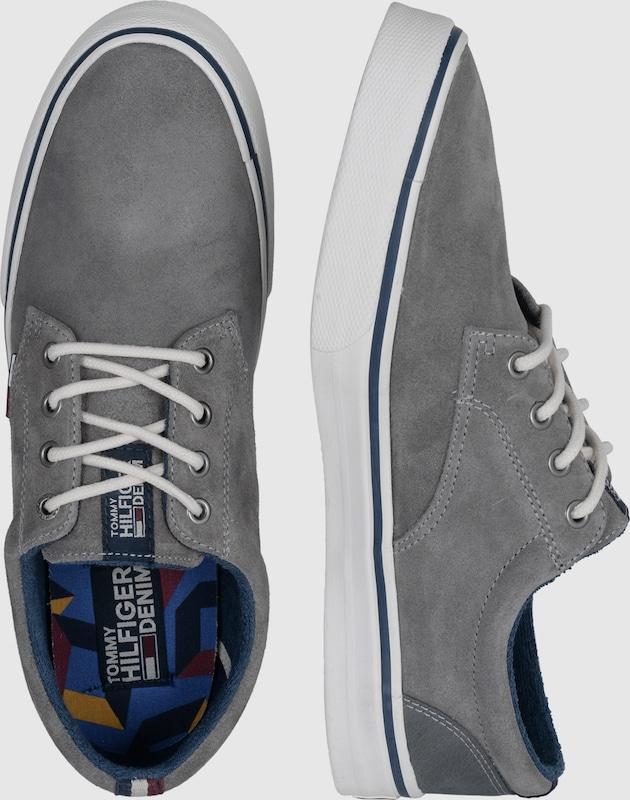 TOMMY HILFIGER Sneaker Sneaker HILFIGER mit Suede Hohe Qualität 7dfd88