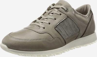 ECCO Sneaker in dunkelbeige: Frontalansicht
