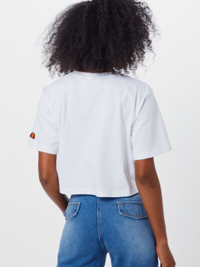 ELLESSE Shirt 'RALIA' in weiß: Rückansicht