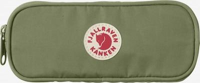 Fjällräven Tasche in hellgrün / pastellrot / weiß, Produktansicht