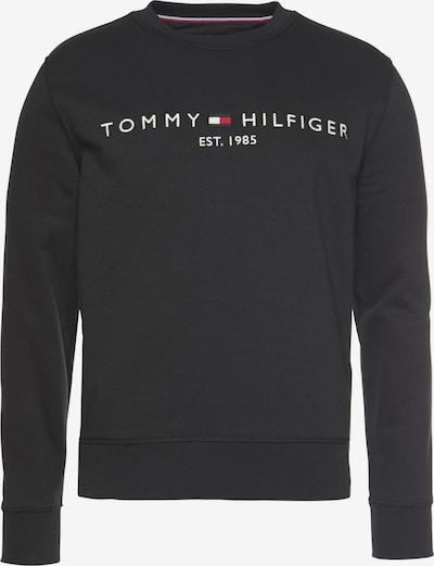 TOMMY HILFIGER Sweatshirts in schwarz / weiß, Produktansicht