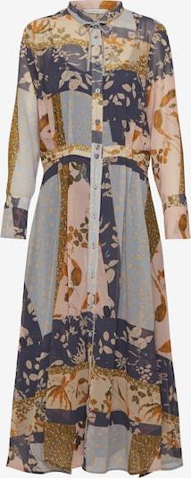 NÜMPH Košeľové šaty 'Numehri' - tmavomodrá / žlté / ružová, Produkt