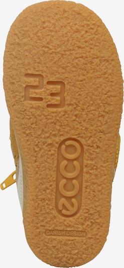 ECCO Winterstiefel 'GORE-TEX' in gelb: Ansicht von unten