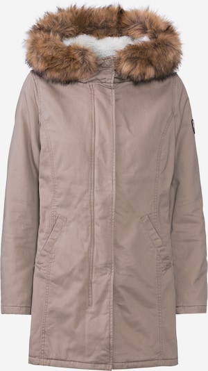 ONLY Tussenparka 'MANDY' in de kleur Taupe, Productweergave