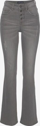 ARIZONA Jeans in grey denim: Frontalansicht