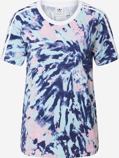 ADIDAS ORIGINALS T-shirt en turquoise / rose, Vue avec produit