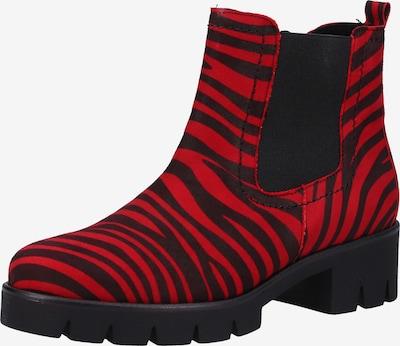 GABOR Stiefelette in rot / schwarz, Produktansicht