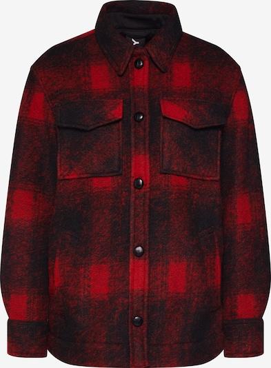 REPLAY Tussenjas in de kleur Rood / Zwart, Productweergave