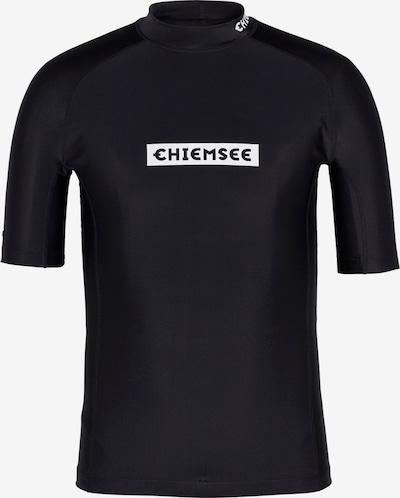 CHIEMSEE Functioneel shirt in de kleur Zwart / Wit, Productweergave