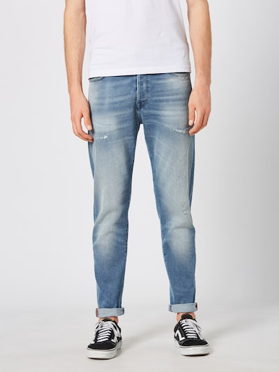 JACK & JONES Jeans 'JJIFRED JJICON BL 853' in blue denim, Modelansicht