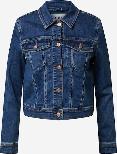 GUESS Jacke 'ADELYA ' in blue denim, Produktansicht