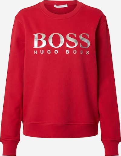 BOSS Sweat-shirt 'Ela' en rouge, Vue avec produit